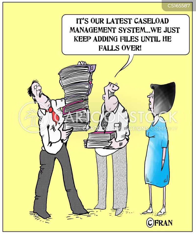 caseload cartoon