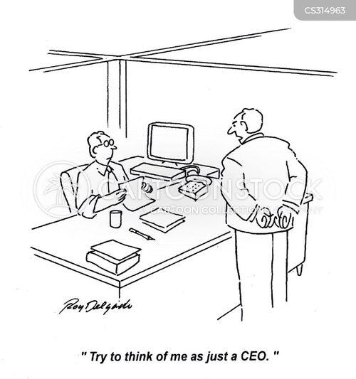 assuring cartoon