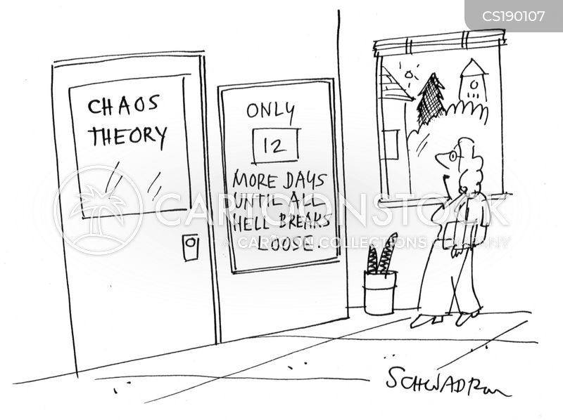 chaos theory cartoon