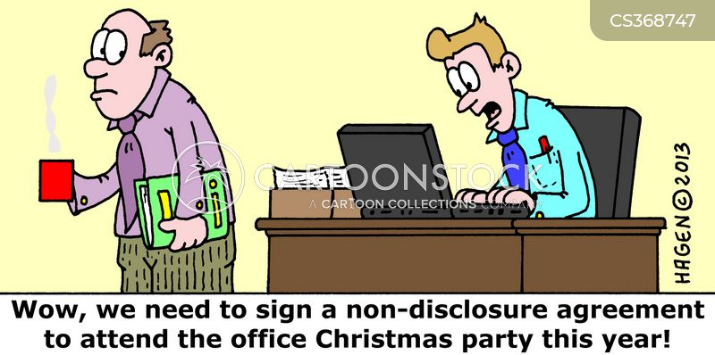 non-disclosure cartoon