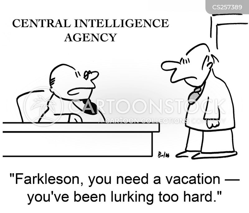lurking cartoon