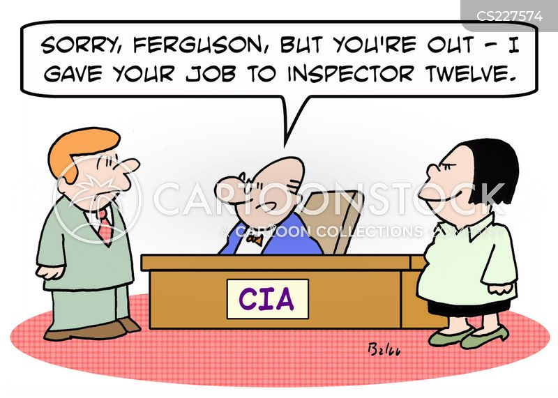 special agents cartoon