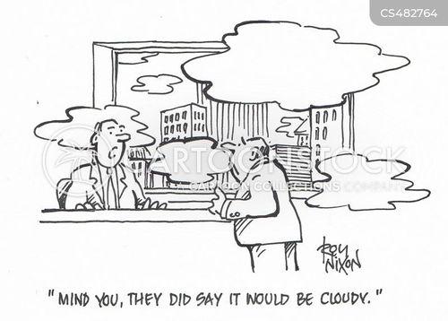 cloudy weather cartoon
