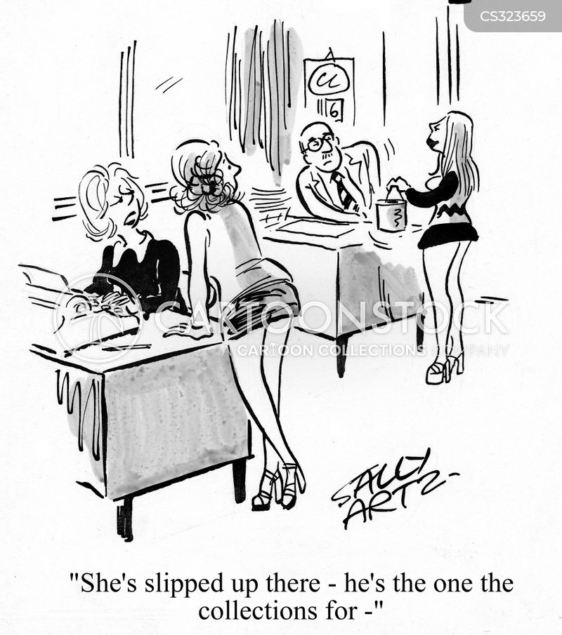slip up cartoon