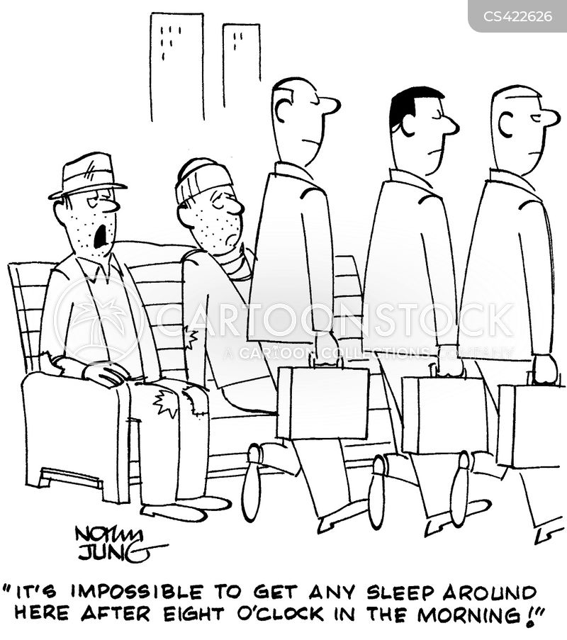 sleeping arrangements cartoon