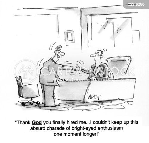 enthusiam cartoon
