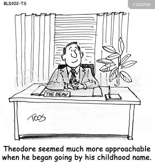 work colleague cartoon