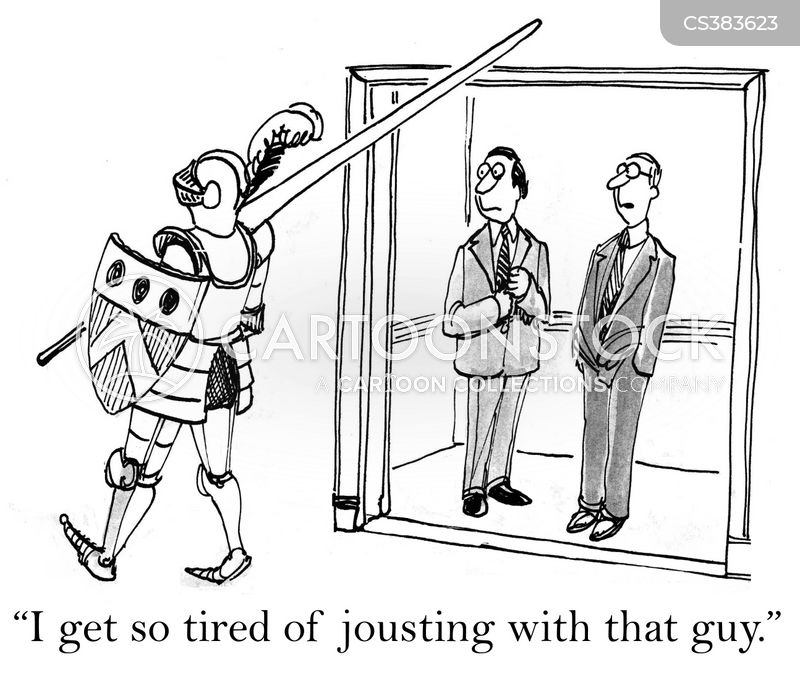 jousted cartoon
