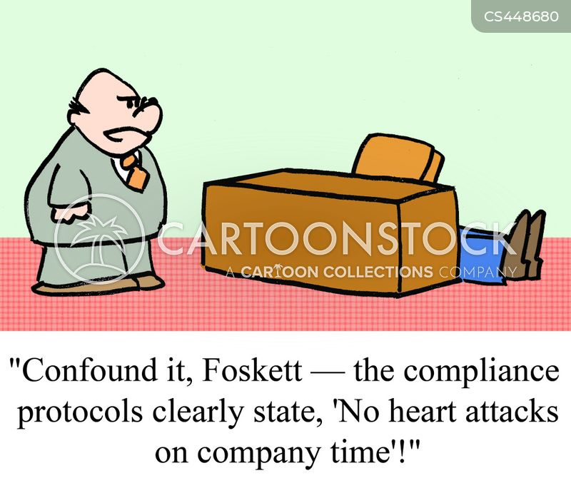 company time cartoon
