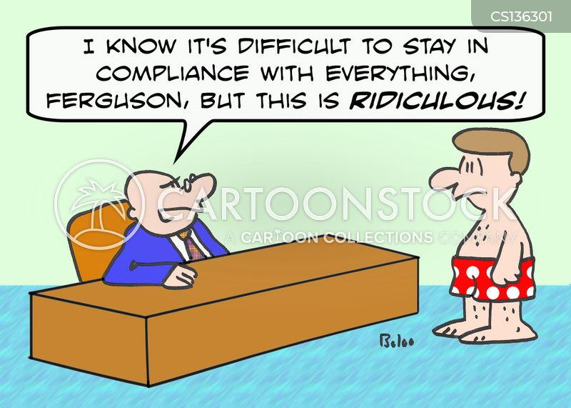 Compliance Cartoons And Comics Funny Pictures From