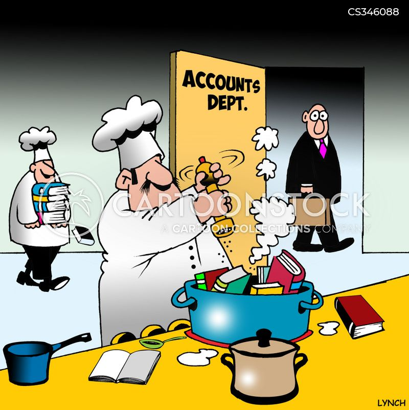 cook the book cartoon
