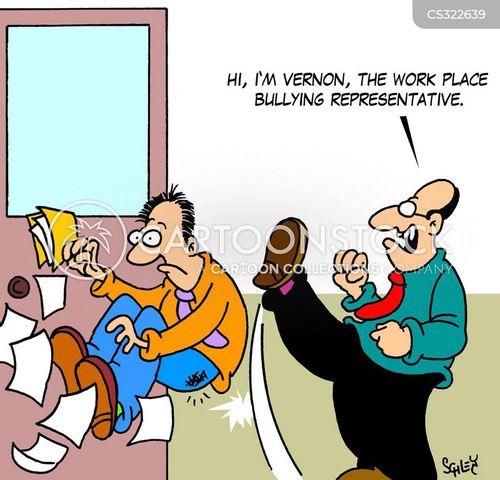 bullying culture cartoon