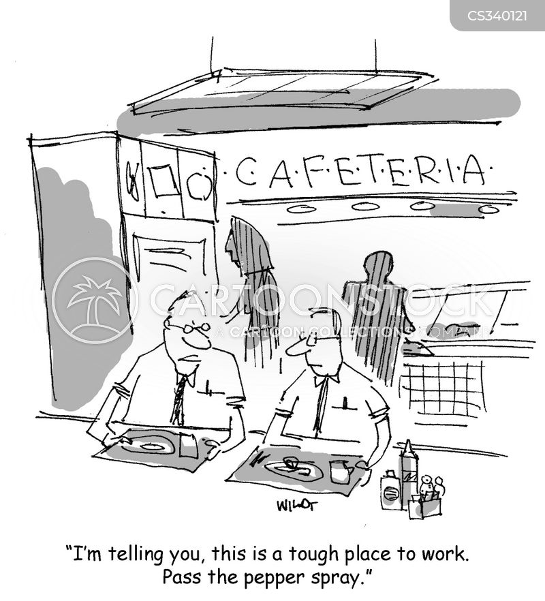 angry employees cartoon