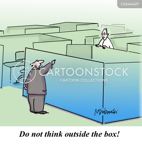 non-conformist cartoon
