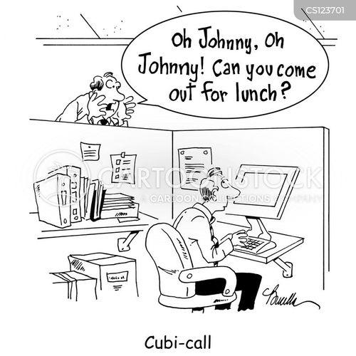 cubi call cartoon