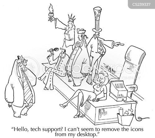 deletes cartoon