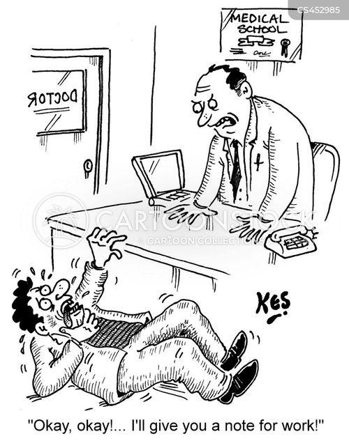 shirker cartoon