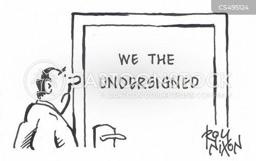 we cartoon