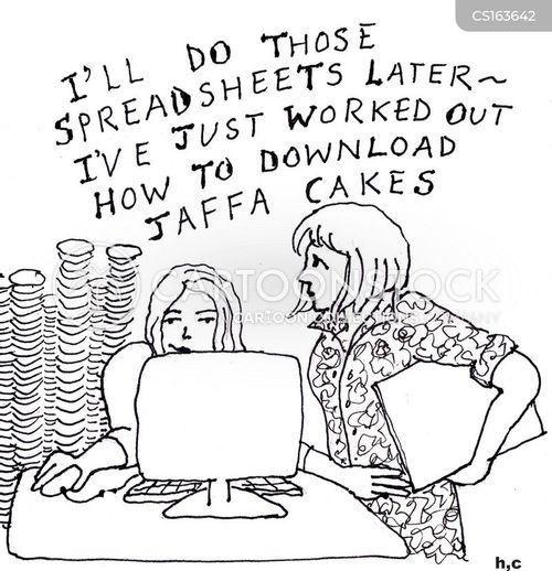 spreadsheet cartoon