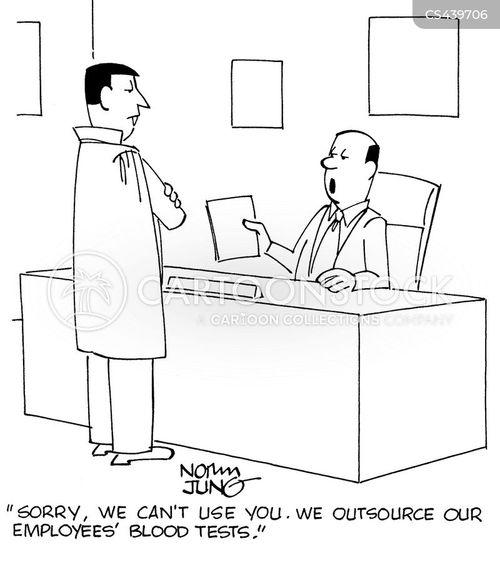 employee health cartoon