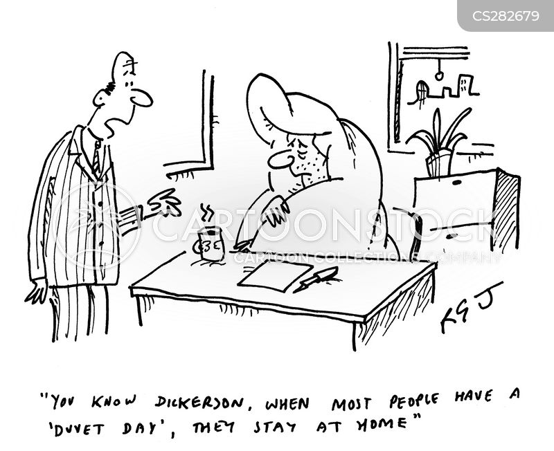 Duvet Cartoons And Comics Funny Pictures From Cartoonstock