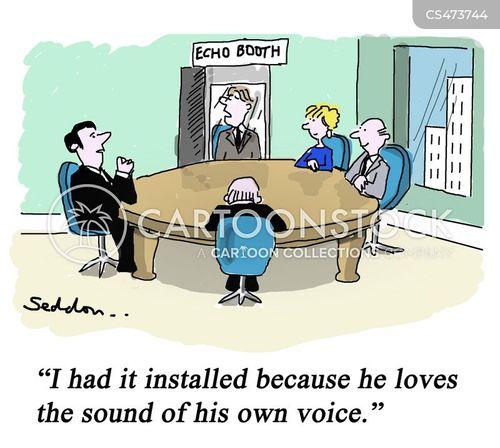 pompousness cartoon