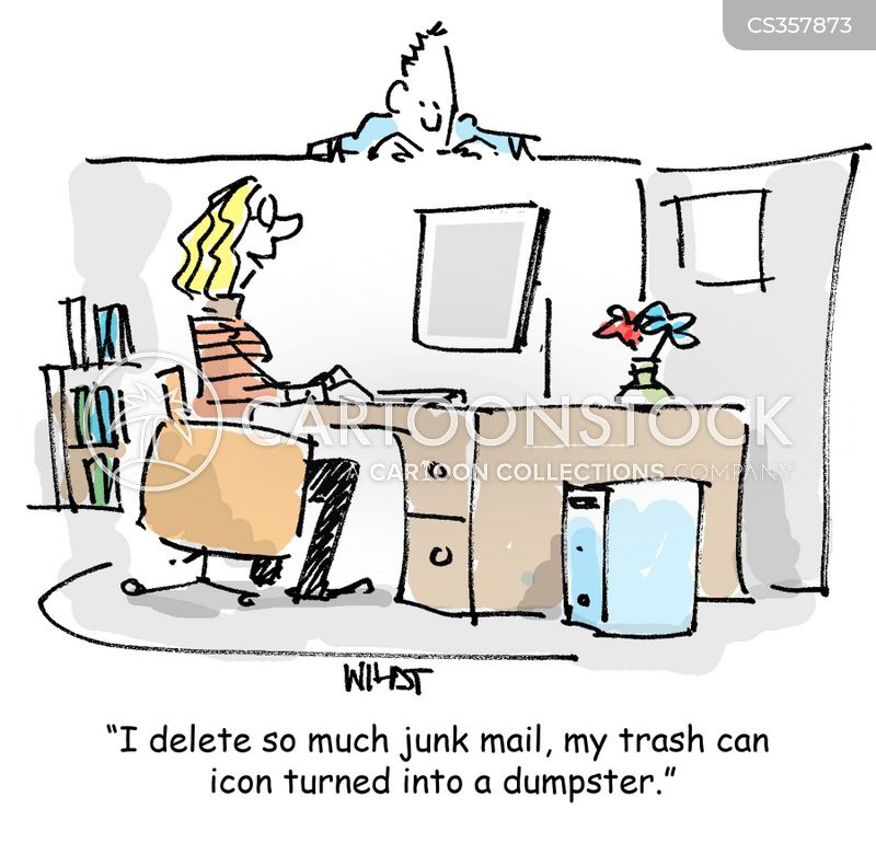 junk-mail cartoon