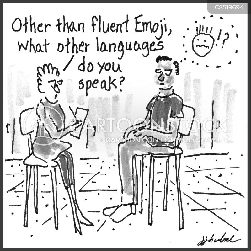 fluent cartoon