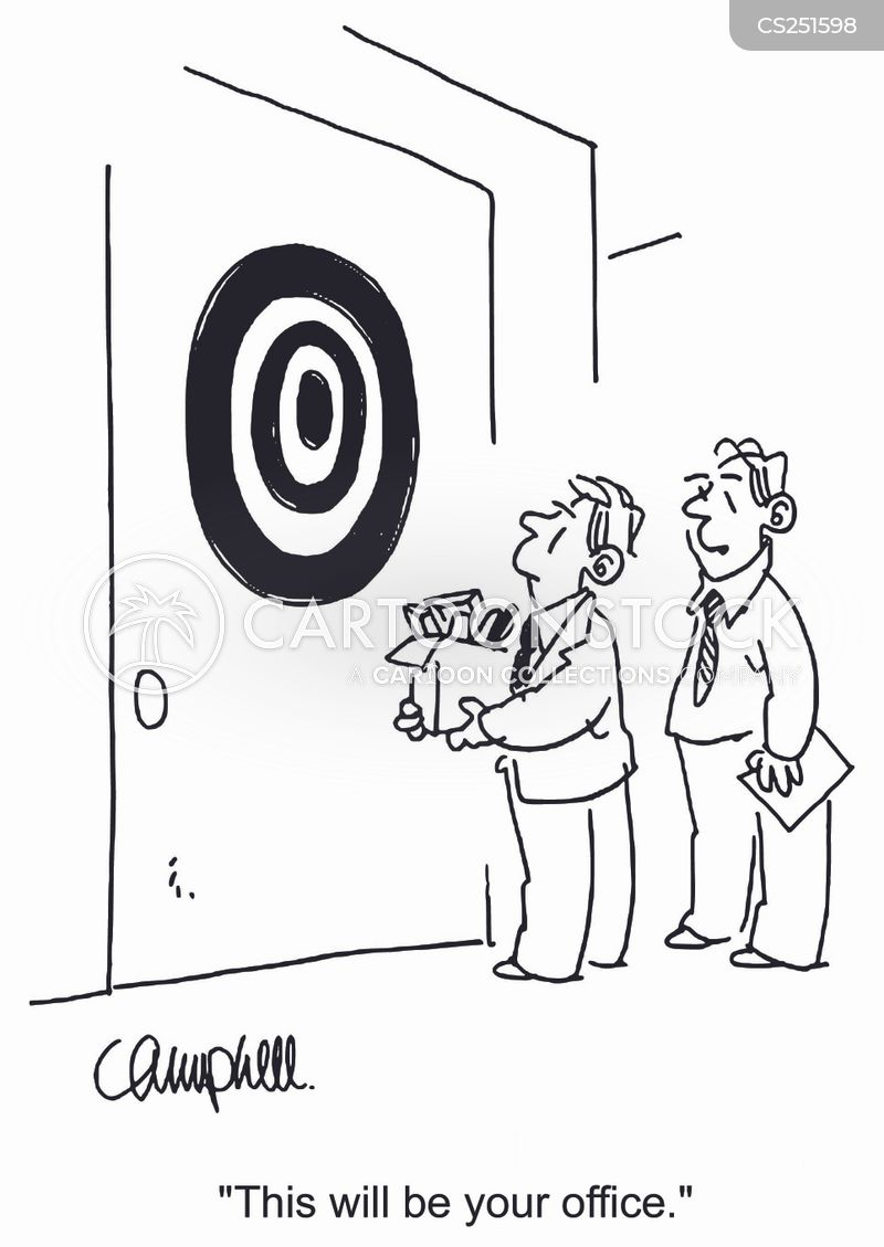 darts boards cartoon