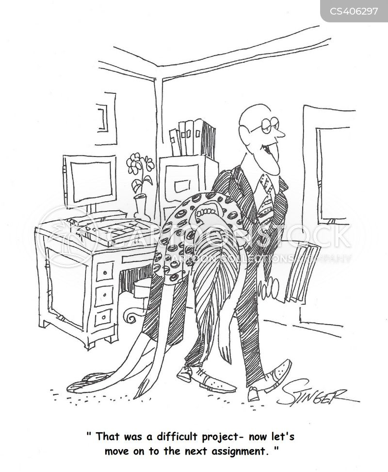 project managers cartoon