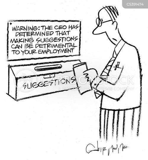 employee feedback cartoon