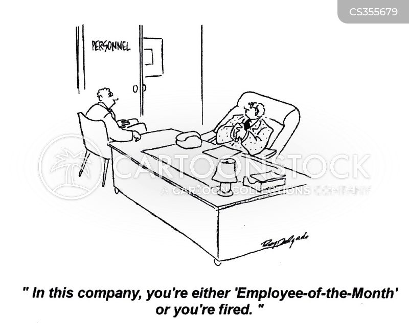 employee-of-the-month cartoon