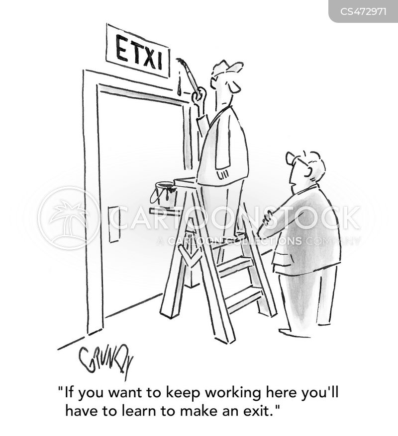 Exit Sign cartoons, Exit Sign cartoon, funny, Exit Sign picture, Exit Sign pictures, Exit Sign image, Exit Sign images, Exit Sign illustration, Exit Sign illustrations