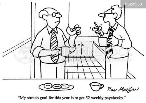 paycheck cartoon