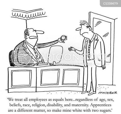 downtrodden cartoon