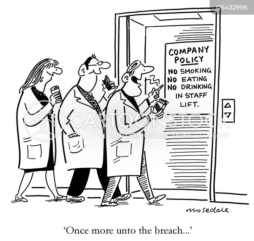 staff rules cartoon