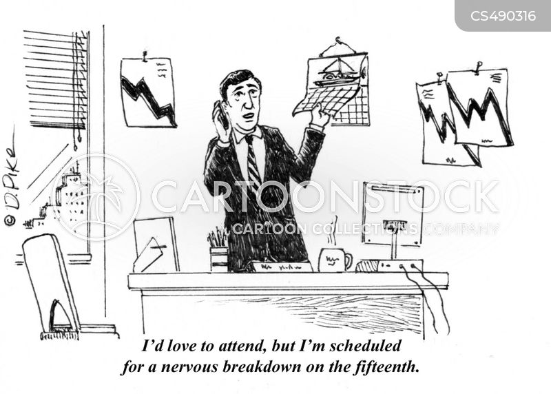 work pressure cartoon