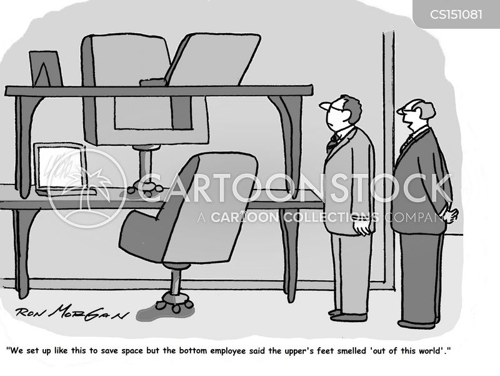 food odor cartoon