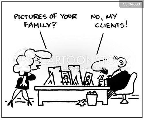 family man cartoon