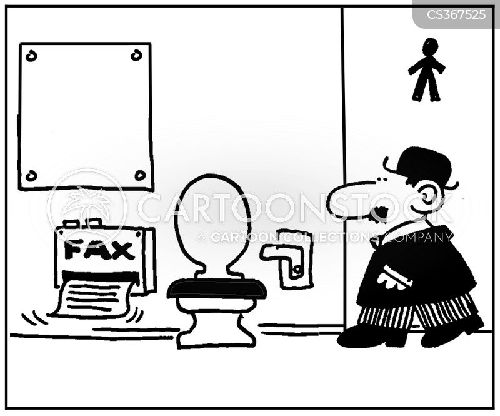 bathroom paper cartoon