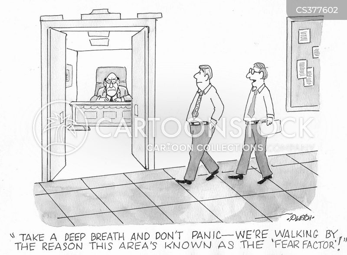 scary bosses cartoon