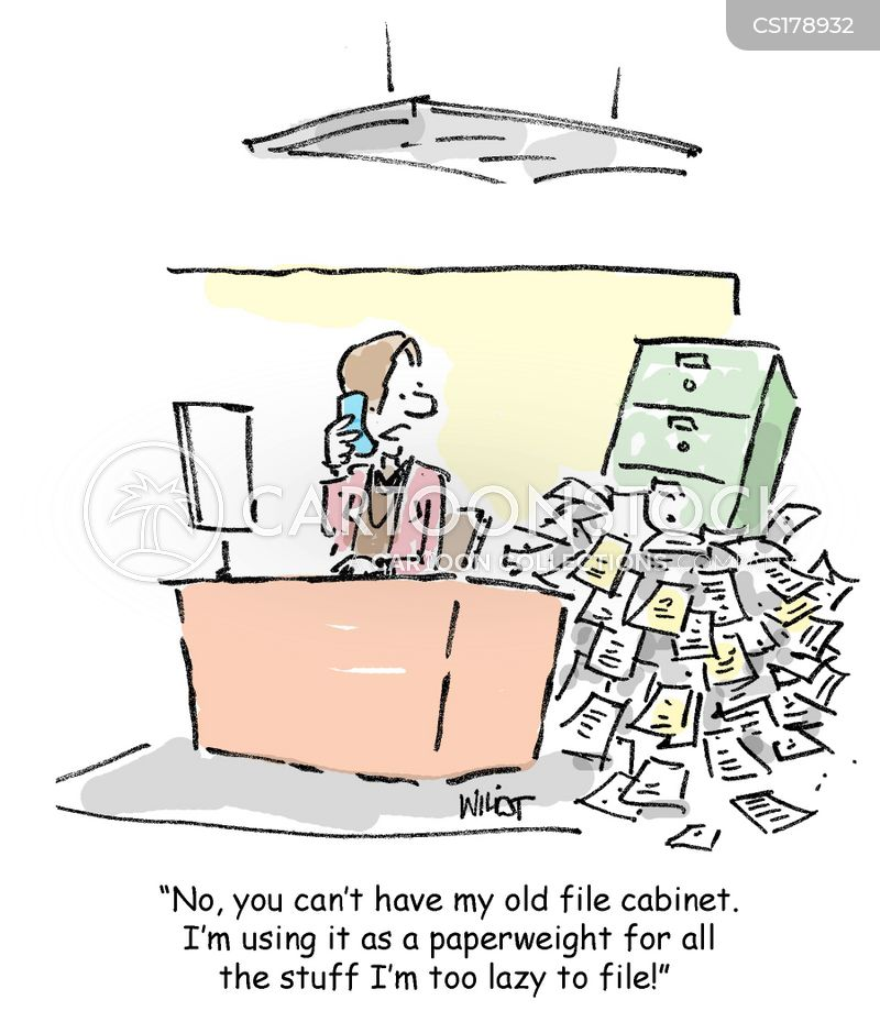 Filing Cabinet cartoon 8 of 144  sc 1 st  CartoonStock & Filing Cabinet Cartoons and Comics - funny pictures from CartoonStock