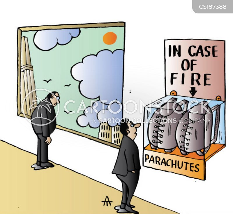 office block cartoon