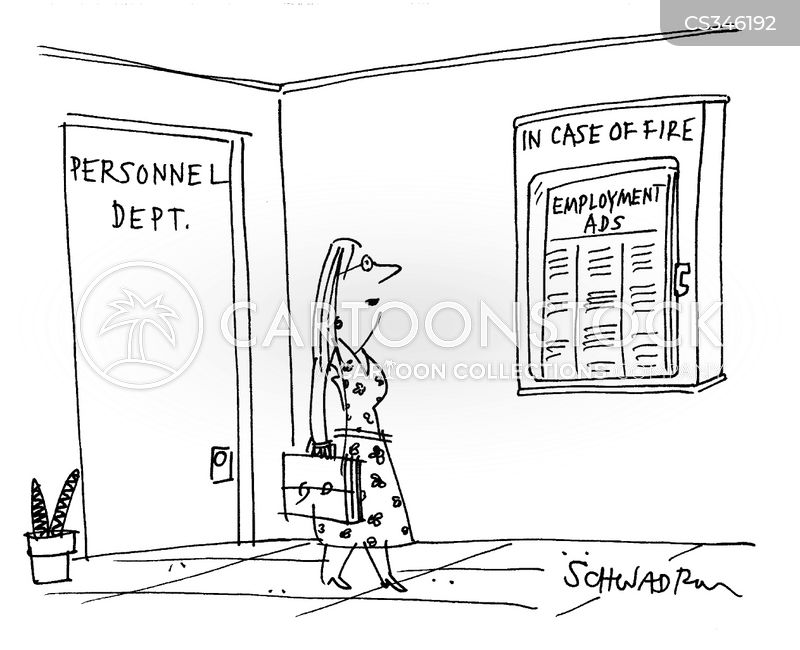 employment ad cartoon