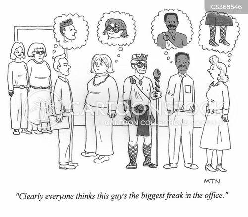 freaks cartoon