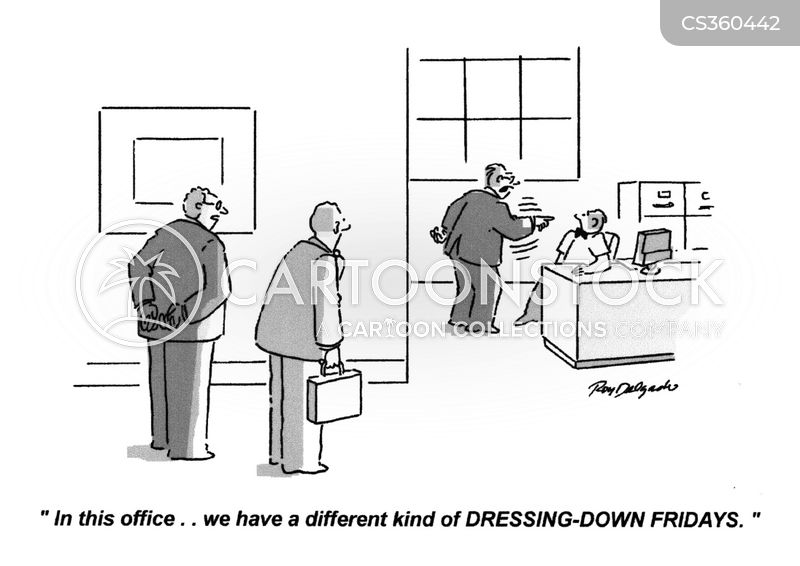Dress Down Cartoons and Comics - funny pictures from