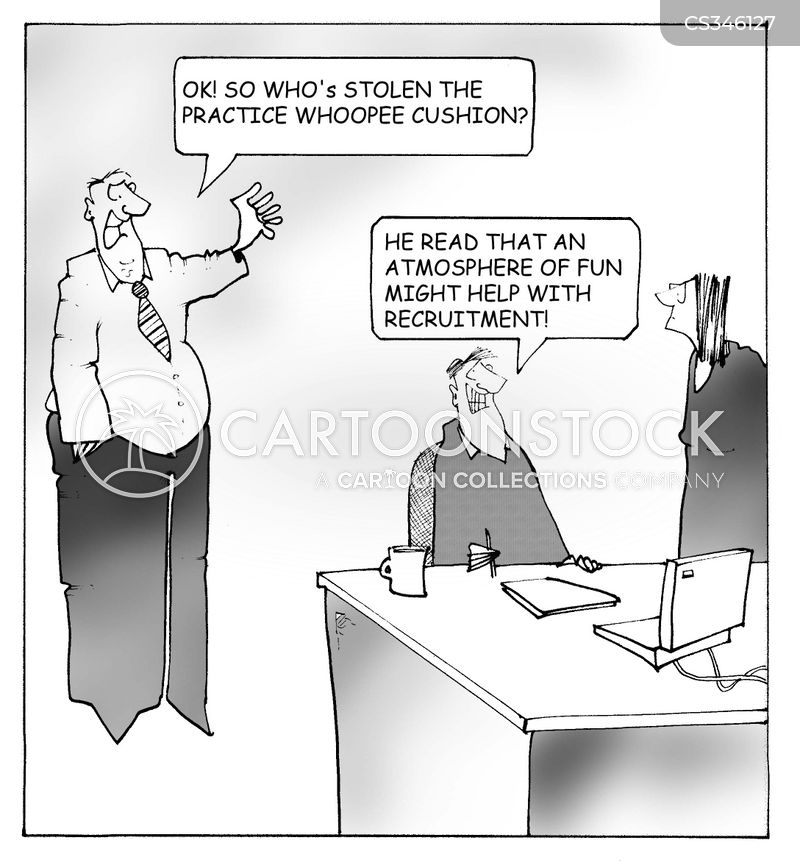 office fun cartoon
