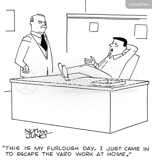 furlough cartoon