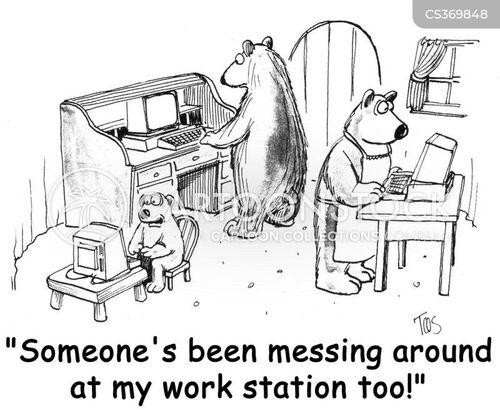 goldilock cartoon
