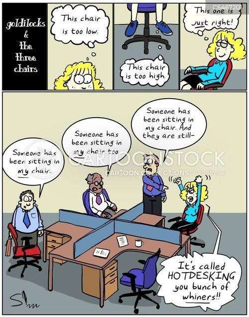 hot-desks cartoon